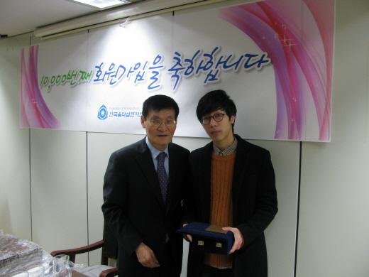 음실련 1만번째 회원, 밴드'더 넛츠'의 드러머 김상돈…국악소녀 송소희 9999번째