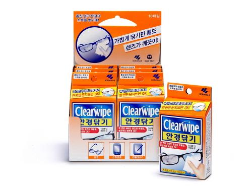 동아제약, 얼룩과 세균을 동시에'안경닦기' 출시
