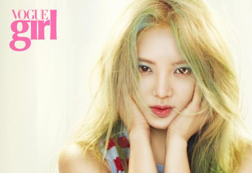 봄으로 물들다…소녀시대 효연, 화사함 묻어나는 뷰티화보 공개