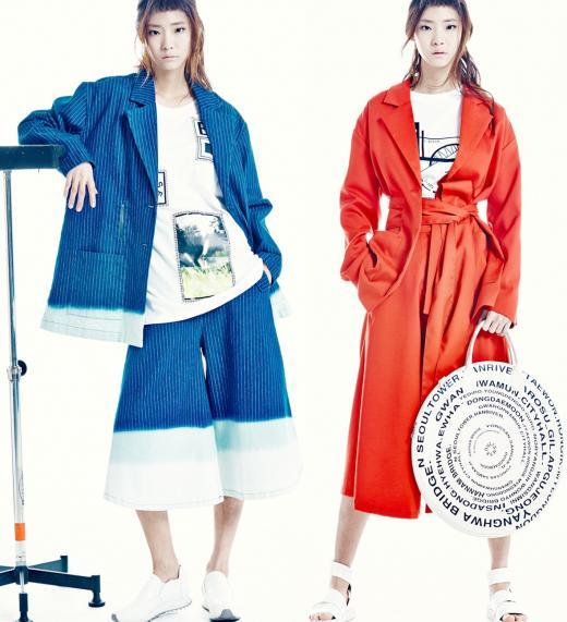 듀이듀이, 2015 S/S 컬렉션 출시…옷을 보면 서울의 특별함이 있어