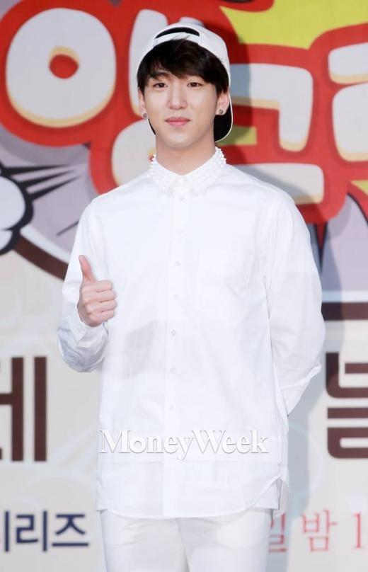 앵그리맘 제작발표회에 참석한 B1A4의 바로(사진=머니투데이 김창현 기자)
