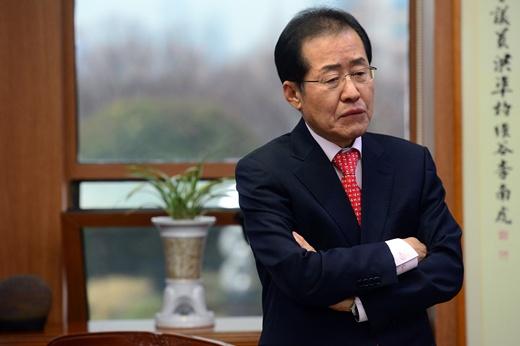 '홍준표 무상급식 중단' /사진=뉴스1