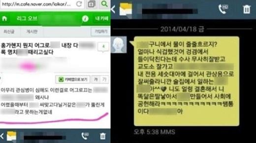 '홍가혜 비방댓글 고소' /사진=홍가혜 SNS