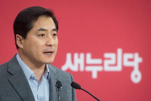 'AIIB 참여 결정' 새누리당 박대출 대변인. /사진=뉴스1