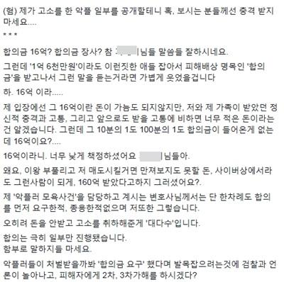 '홍가혜 비방댓글 고소'  /사진=홍가혜 페이스북 캡처