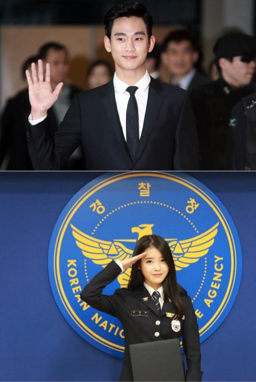 진해 군항제 개막…벚꽃 축제 함께 하고픈 남자 스타 1위 김수현 여자스타 1위는?