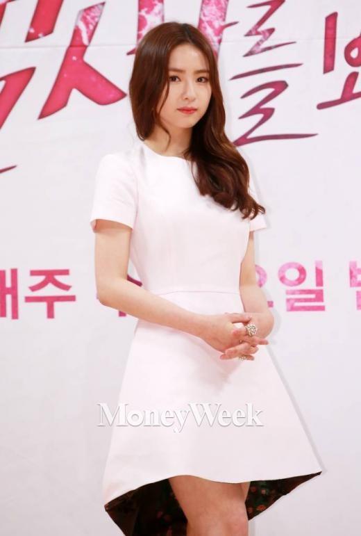 '냄새를 보는 소녀' 제작발표회에 참석한 신세경(사진=머니투데이 김창현 기자)