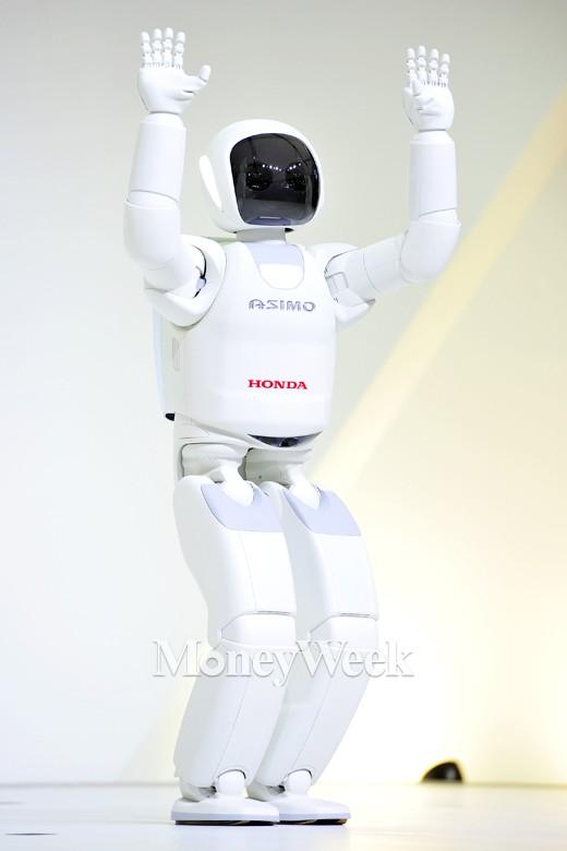 [MW사진] 2015 서울모터쇼, 휴머노이드 로봇까지 등장