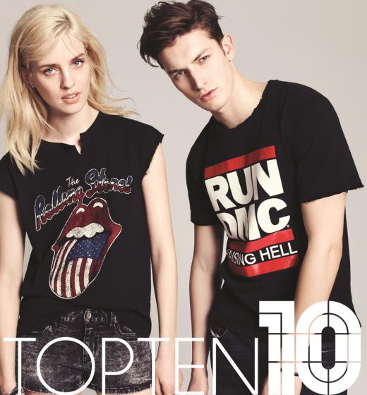 탑텐X브라바도, 콜라보레이션 티셔츠 출시…200가지 스타일, 9900원