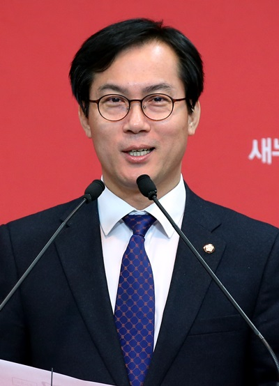 '문재인 발언 논란' 새누리당 김영우 수석대변인. /사진=뉴스1