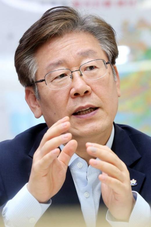 이재명 성남시장/사진=머니투데이 이기범  기자