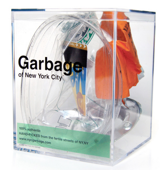 ▲ NYC Garbage에서 팔리고 있는 '쓰레기' 상자/사진=NYC Garbage 홈페이지