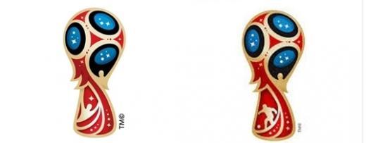 'MBC 일베이미지' 2018 러시아 월드컵 공식 이미지(왼쪽)와 MBC '뉴스투데이'에서 사용된 일베 이미지. /사진=일간베스트저장소 게시판 캡처