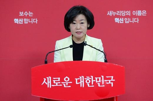 '이완구 성완종' 새누리당 권은희 대변인. /사진=뉴스1