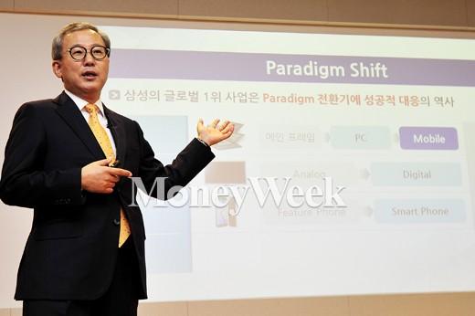 전동수 삼성SDS 대표 /사진=임한별 기자
