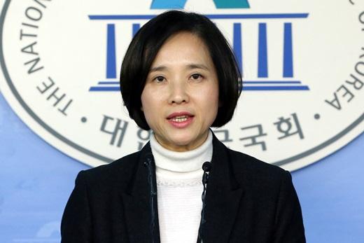'박근혜 대통령 해외순방' 새정치민주연합 유은혜 대변인. /사진=뉴스1