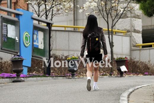[MW사진] 세월호 참사 1주기, 등교하는 단원고 학생