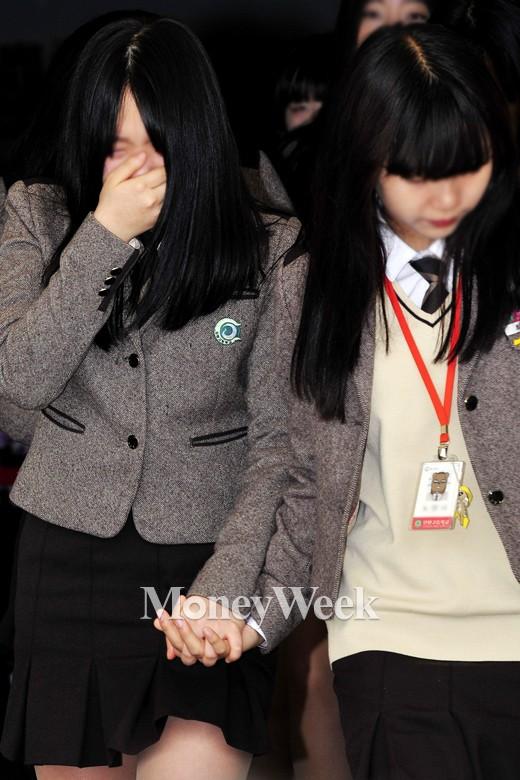 [MW사진] 세월호 1주기 추모, '친구야 미안'