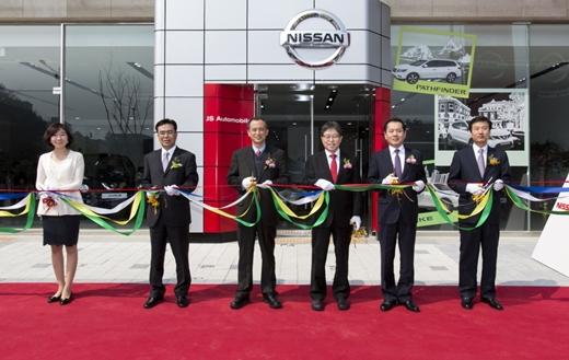 닛산, 전주 전시장 공식 오픈