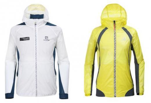 ▲ 살로몬의 네이티브 재킷(Native Jacket). (좌)남성용, (우)여성용