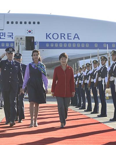 '박근혜 칠레' /사진=뉴시스