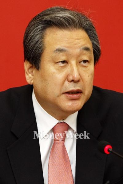 '민주노총 총파업' 사진은 김무성 새누리당 대표. /사진=임한별 기자