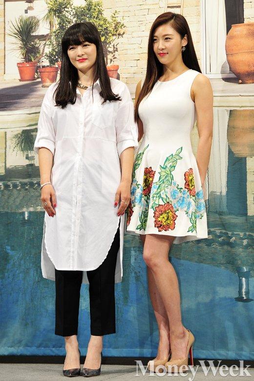 [MW사진] 언니랑 고고 하지원 친언니, '닮은듯, 안닮은듯'
