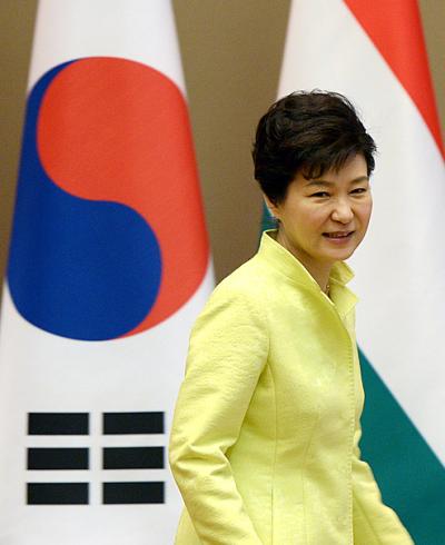 '문재인 긴급 기자회견' 사진은 박근혜 대통령. /사진=뉴시스