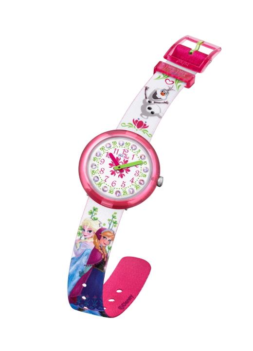 플릭플락, 헬로 키티 시계·겨울왕국 시계 등 애니메이션 컬렉션 출시