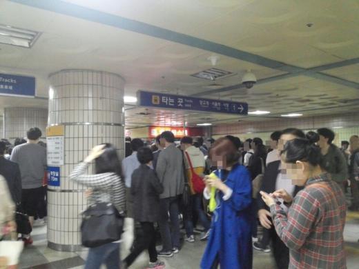 '지하철 4호선' '4호선 사고' 사진은 인덕원역 /사진=머니위크DB