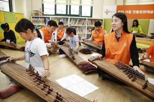 '한화예술더하기' 전통문화예술교육 중심 확대 운영