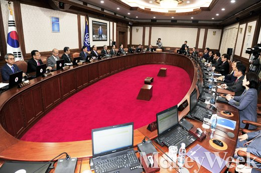 [MW사진] '연말정산 환급 마무리' 임시 국무회의