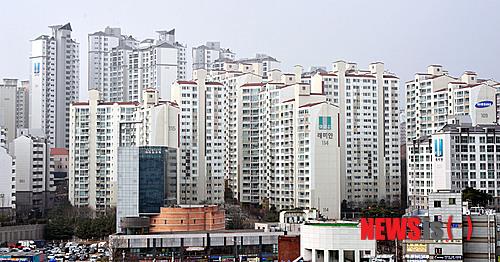 서울 한 아파트단지 전경. 사진제공=뉴시스