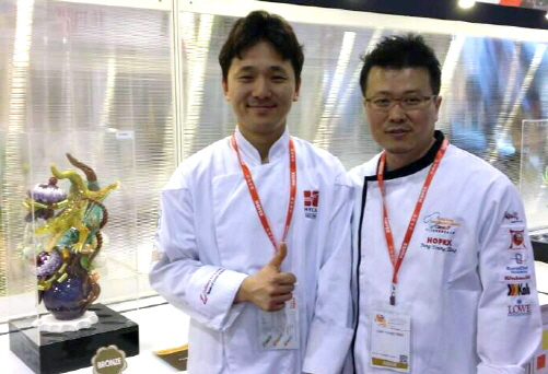 호남대 이관우씨, 홍콩국제요리대회 설탕공예 동메달 수상