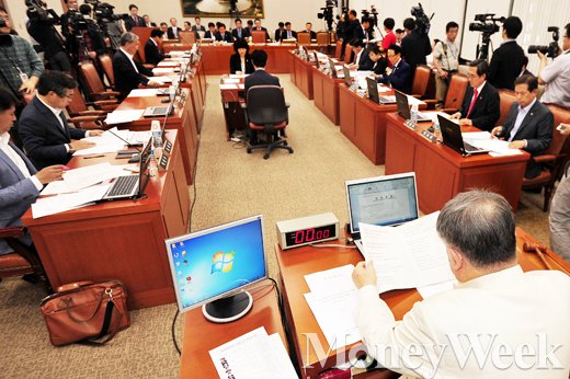 [MW사진] 국회 농축해수위 전체회의 개최