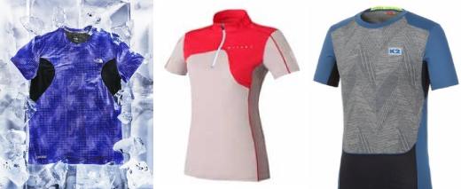 ▲ (왼쪽부터) 노스페이스, 밀레, K2 제품