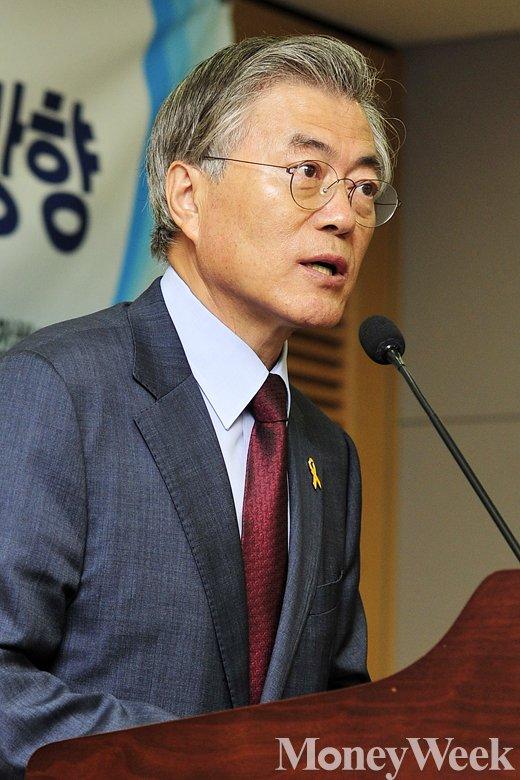 '황교안 총리' 새정치민주연합 문재인 대표. /사진=임한별 기자