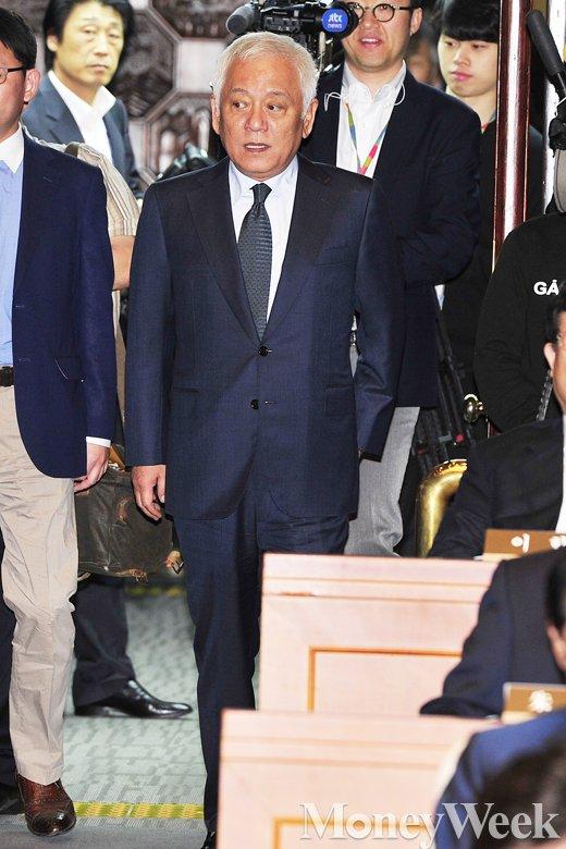 '문재인 안철수' 새정치민주연합 김한길 의원. /사진=임한별 기자