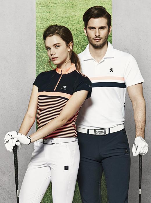 밀레, '에어로쿨' 소재 골프 티셔츠 8종 출시…'네잎 클로버 효과로 시원하게'