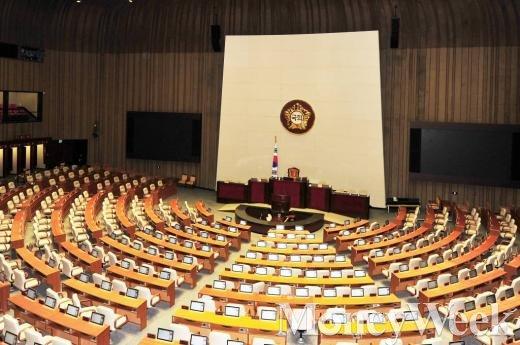 공무원연금개혁 및 박상옥 대법관 인준 국회 본회의 (텅빈 의석)/사진=임한별 머니위크 기자