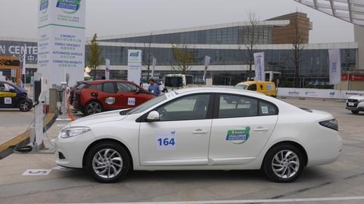 르노삼성, 유엔기후변화협약 총회에 SM3 Z.E. 의전차량 제공