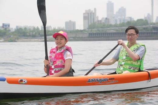 우성아이비, 한강서 수상레포츠 무료체험장 운영… 카약·SUP 등