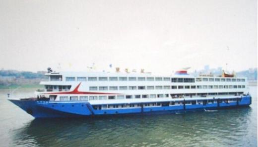 1일 밤 중국 양쯔강의 후베이성 지역에서 승객과 선원 등 458명을 태운 여객선이 침몰했다. 사진은 해당 여객선인 '둥팡지셩(동방지성)'의 모습. /사진=머니투데이DB