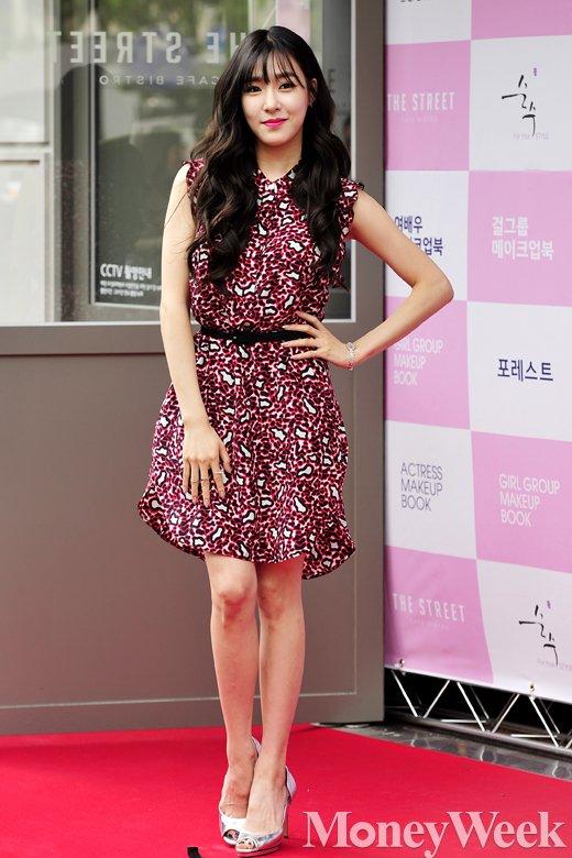[MW사진] 소녀시대 티파니, '닉쿤과 결별했지만 당당하게'