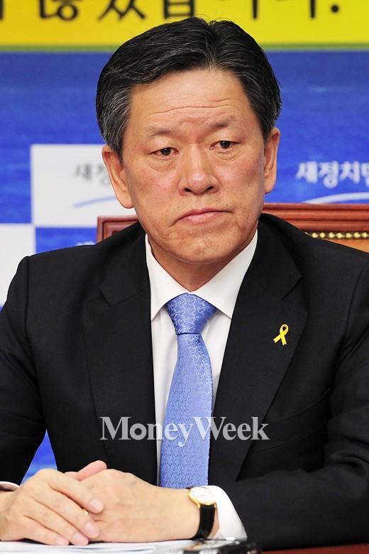 '새정치민주연합 탈당의원' 주승용 의원. /사진=임한별 기자