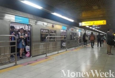 '지하철 4호선' /자료사진=머니위크DB