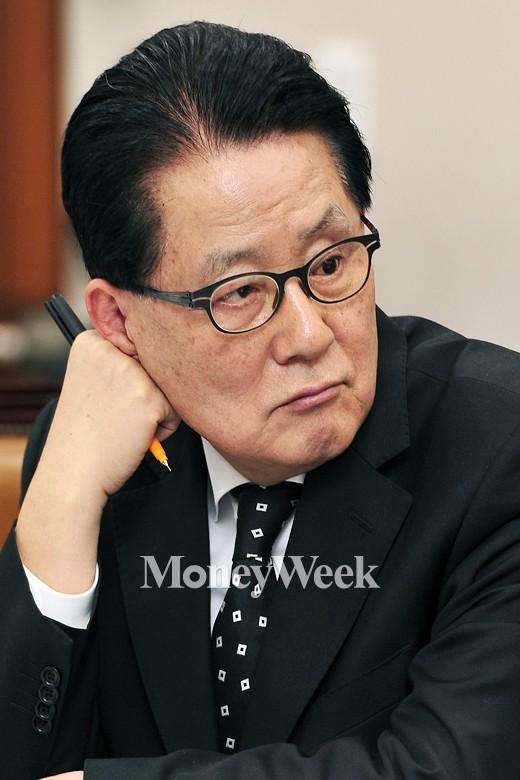 '박지원 셀프디스' /사진=임한별 기자