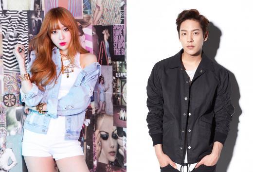 잠뱅이, EXID '하니'와 배우 '곽시양' 광고모델 발탁