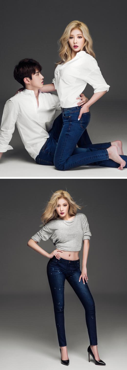 포미닛 현아. 노출없이 표정과 몸매만으로도 '섹시'