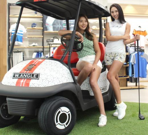 '얼짱 골퍼'들이 전하는 여름 골프 라운드 팁